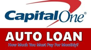 How Much You Must Pay For Monthly Under Capital One Auto Loan?